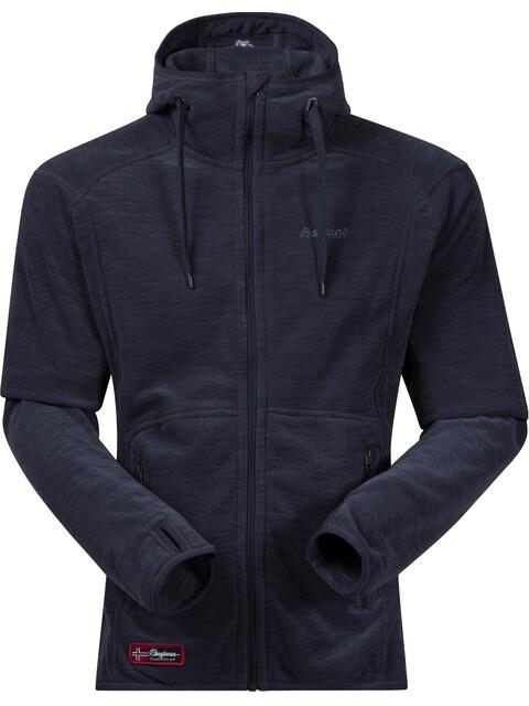Bergans M's Hareid Jacket Dark Navy Mel